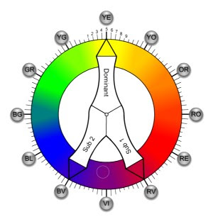 TCS Color Wheel